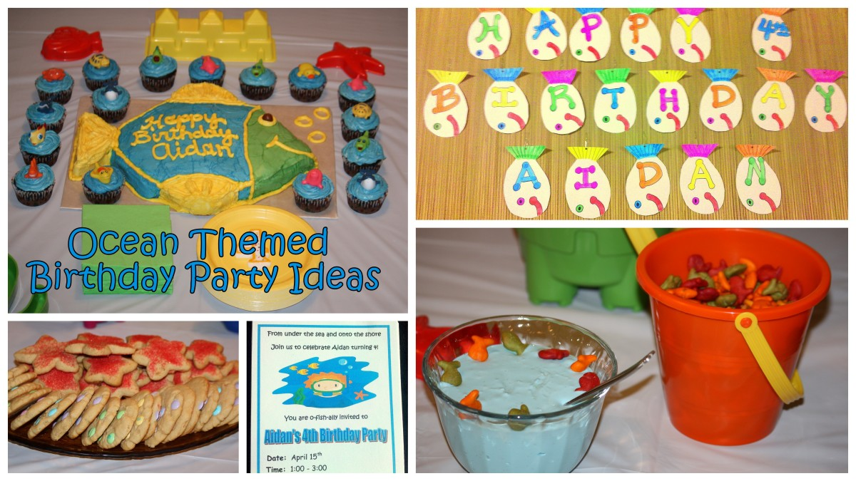 How To Throw An Ocean Themed Birthday Party