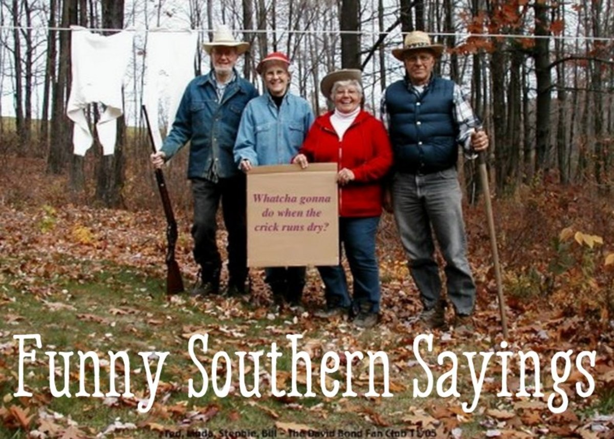 Funny southern sayings expressions and slang wanderwisdom whatcha gonna do when the crick runs dry m4hsunfo
