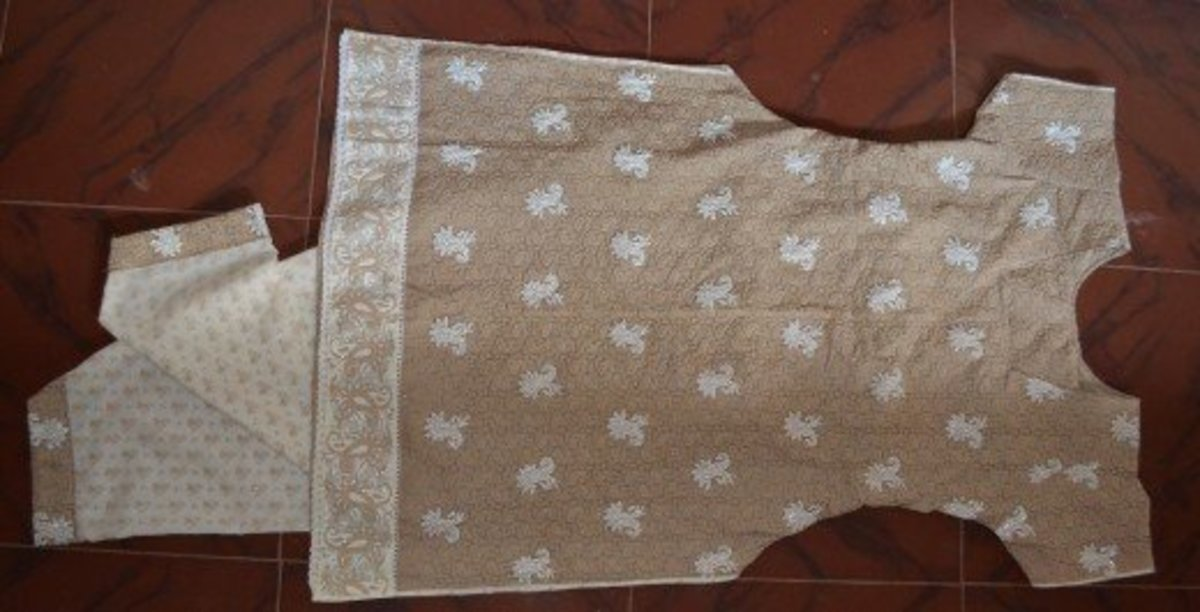 How to Stitch a Churidar Step-by-Step With Pictures
