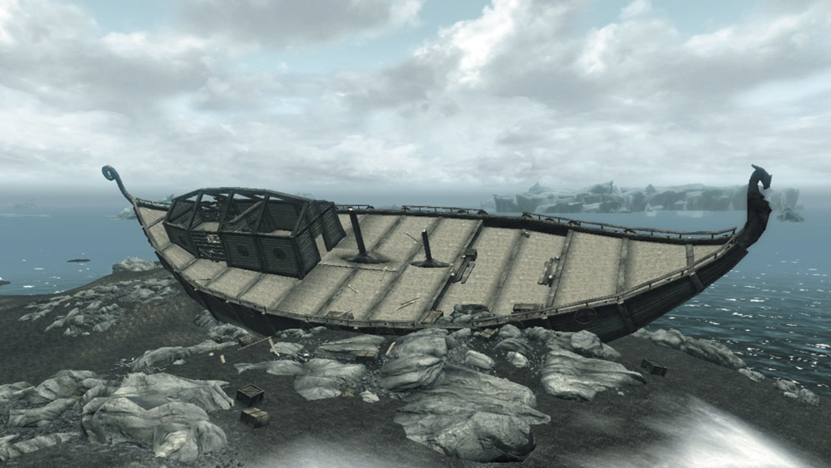 Skyrim Treasure: Pillage the Brinehammer Shipwreck, Loot a Dwarven Storehouse, and More
