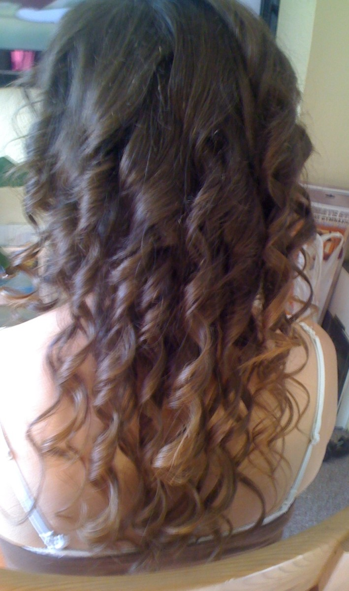 My hair, prior to chemo