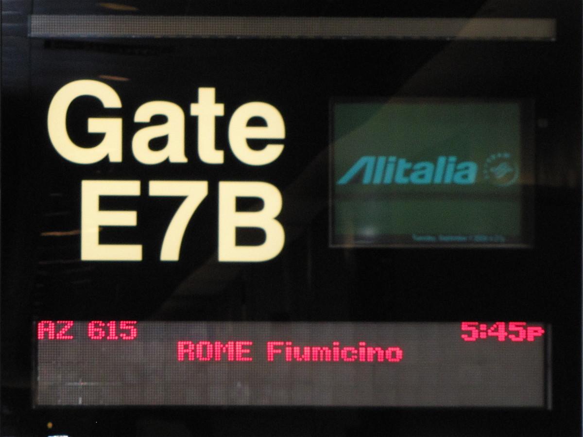 Heading to Italy
