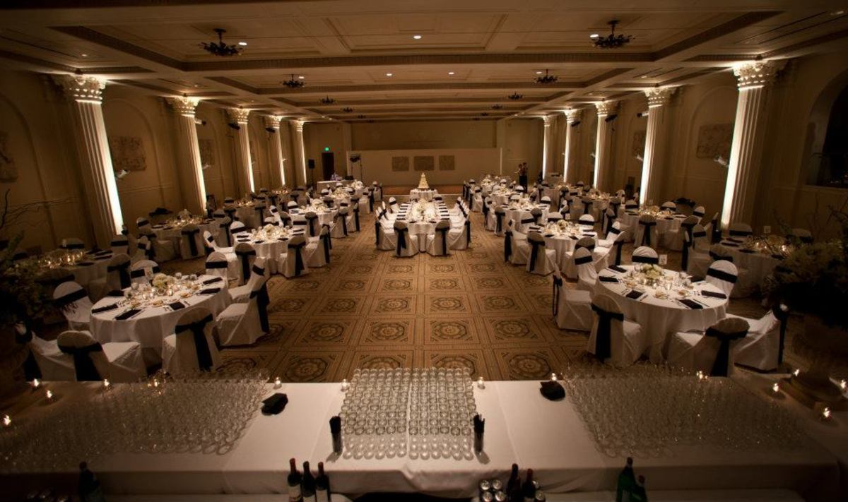 My wedding reception in one of the beautiful ballrooms at the Portland Art Museum