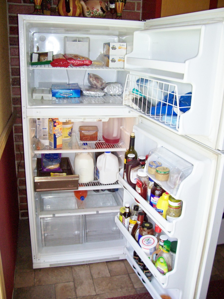 Time to clean the refrigerator?