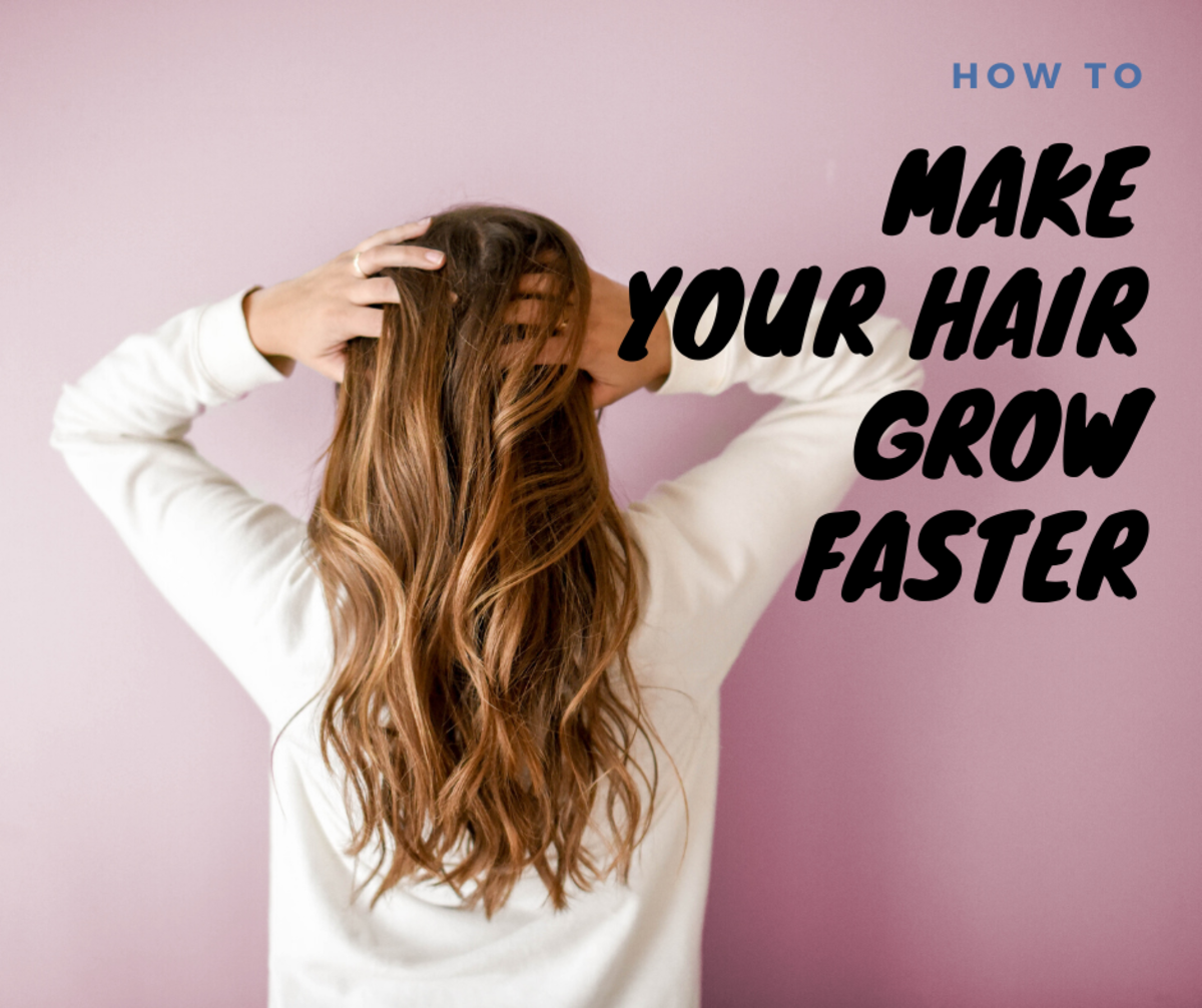 Looking for ways to make your hair grow faster? Here are nine tips!