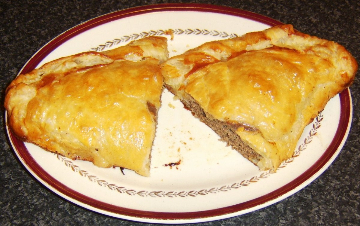 This homemade cheeseburger pasty is a tasty and healthier alternative to fast food. Learn how to make this and other pasty variations!