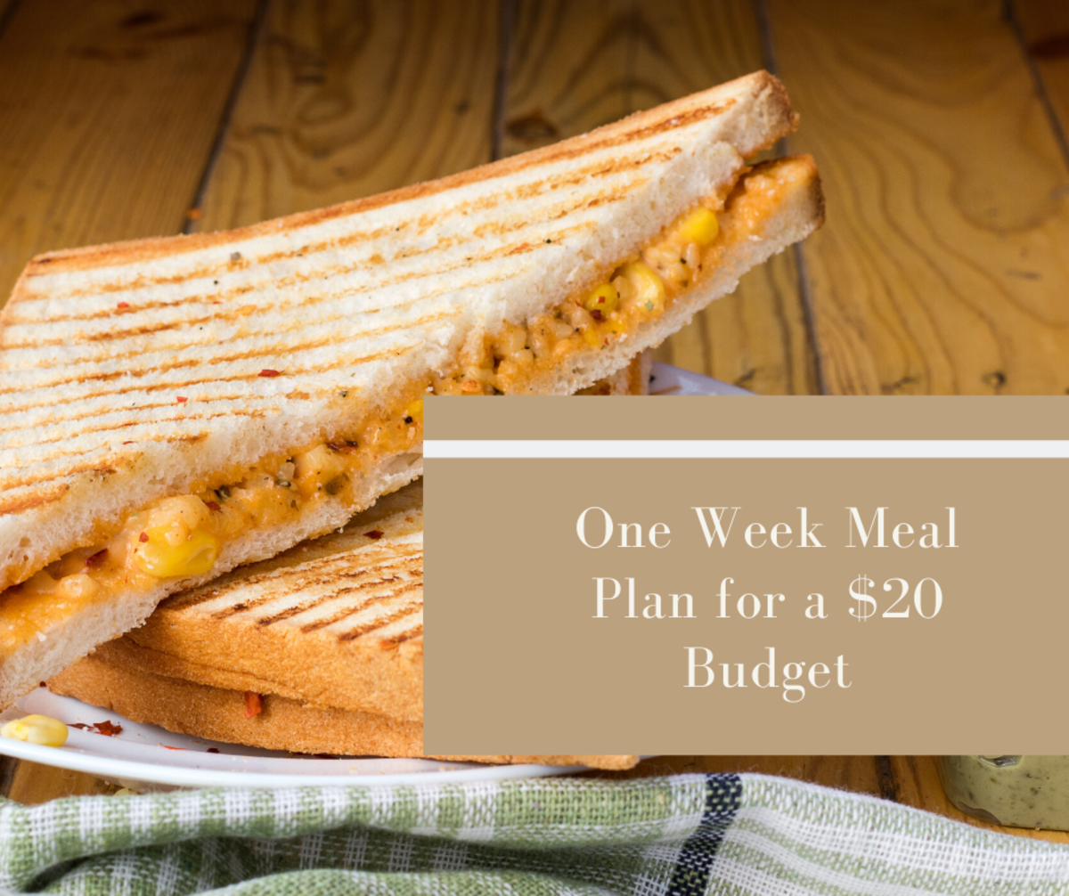 Broke? Try This One Week Meal Plan for a $20 Budget