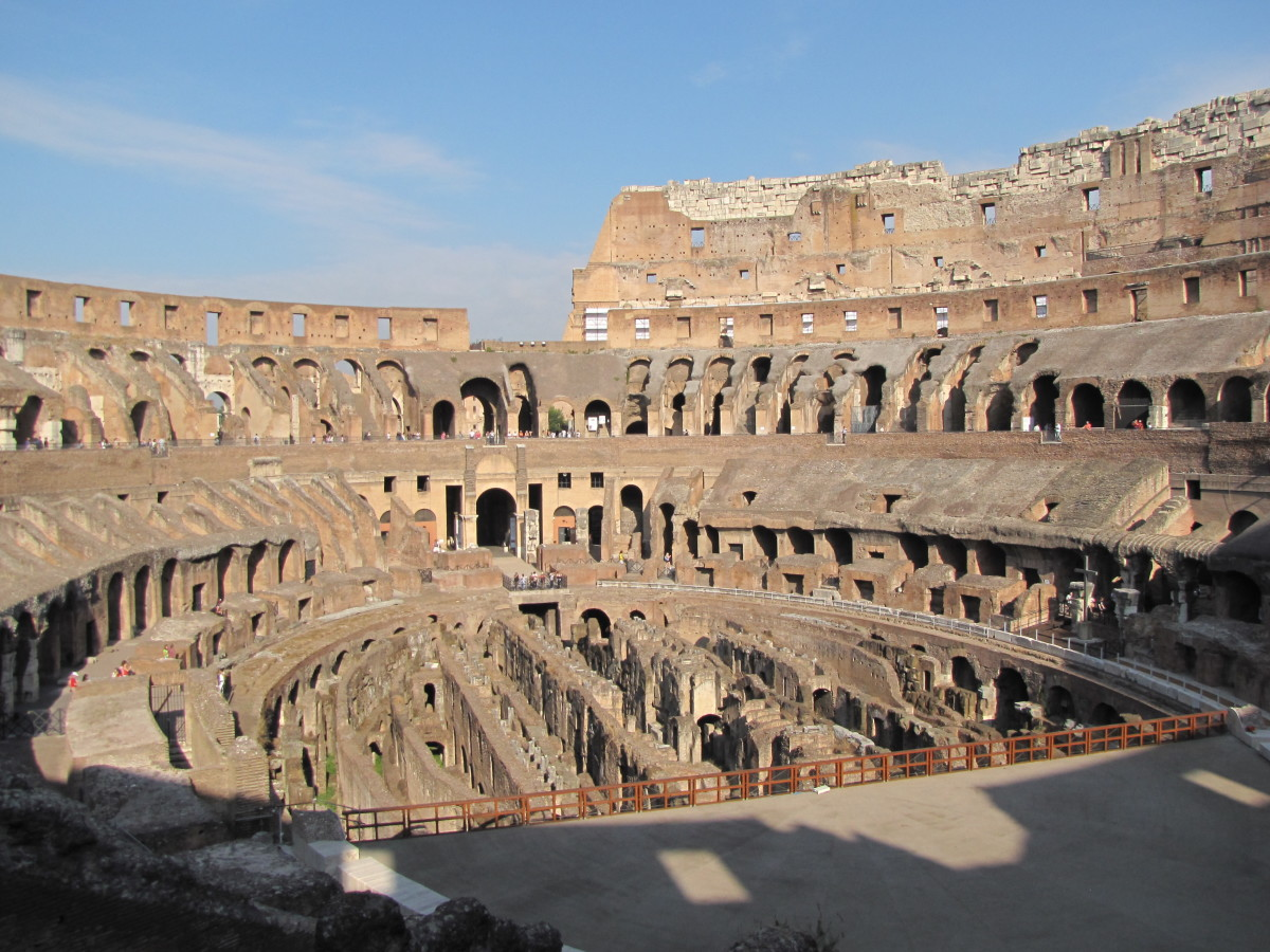 The Colosseum in all its glory