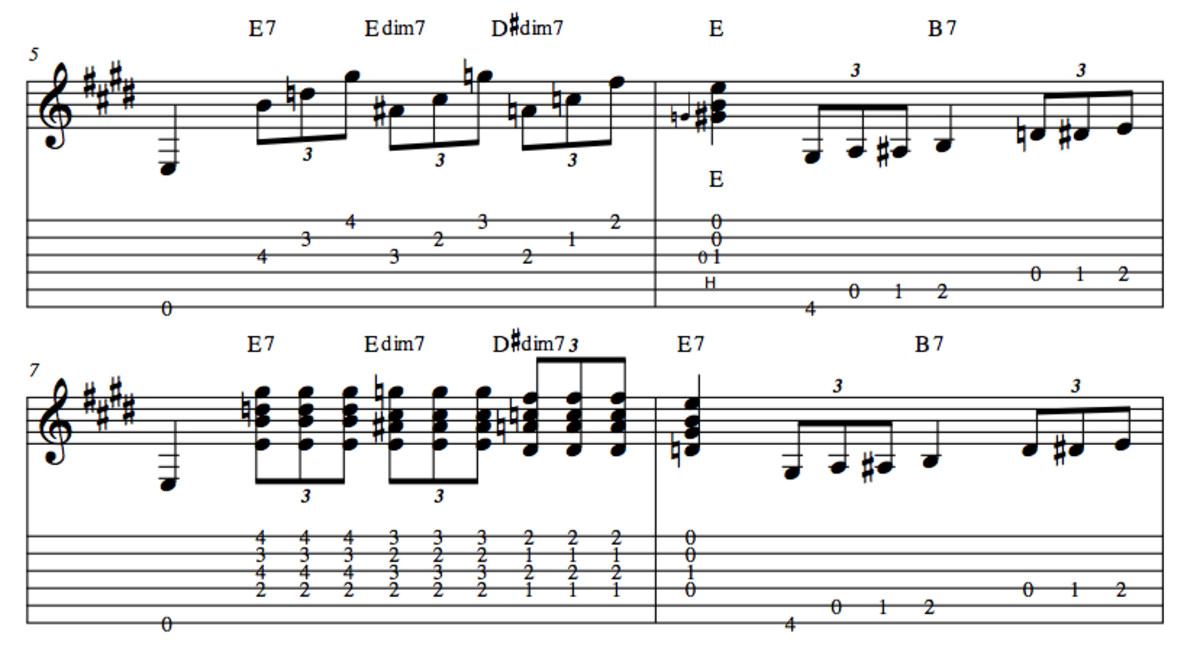 Blues Guitar Lessons—13 Blues Turnarounds In E