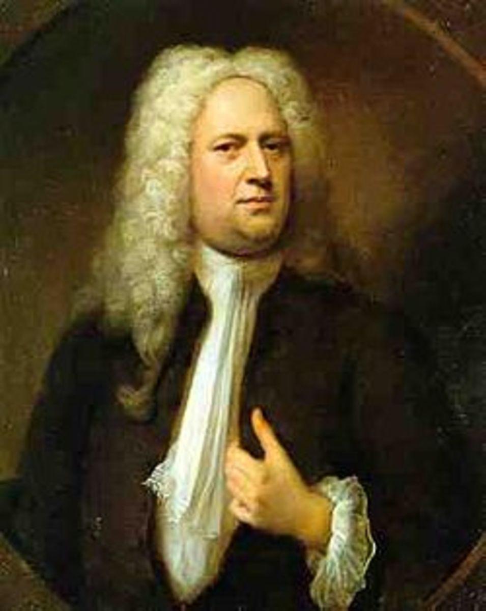 George Frederic Handel.