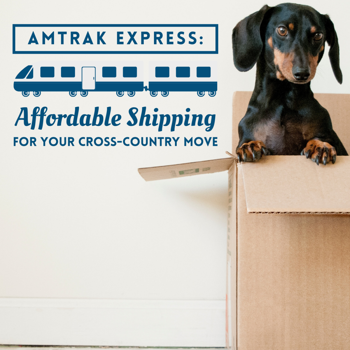 Rental trucks and traditional freight are expensive. Amtrak Express shipping is an affordable alternative.