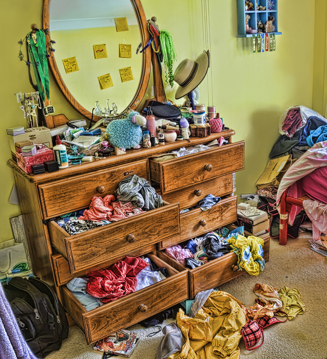 how to clean a messy room quickly dengarden