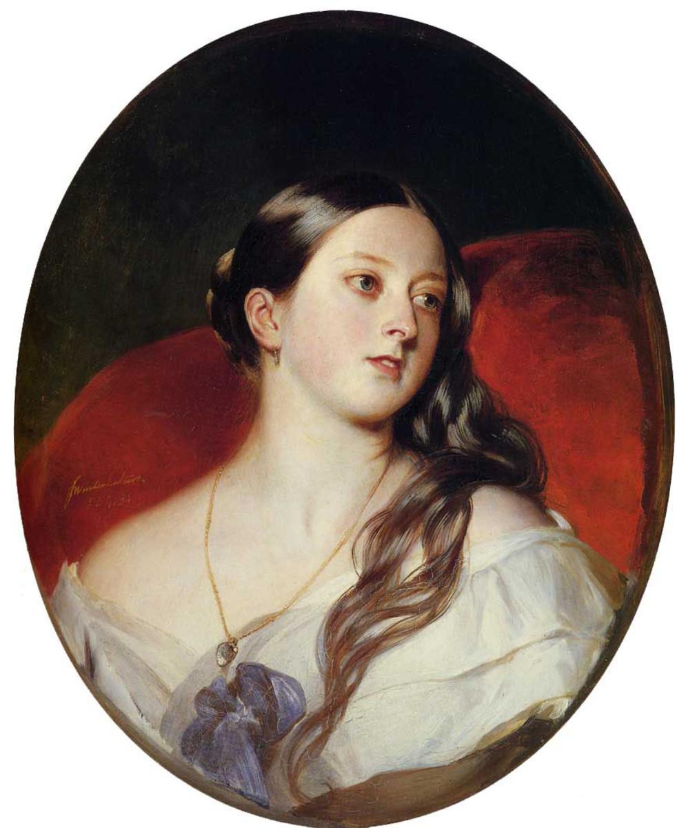 Queen Victoria in 1843