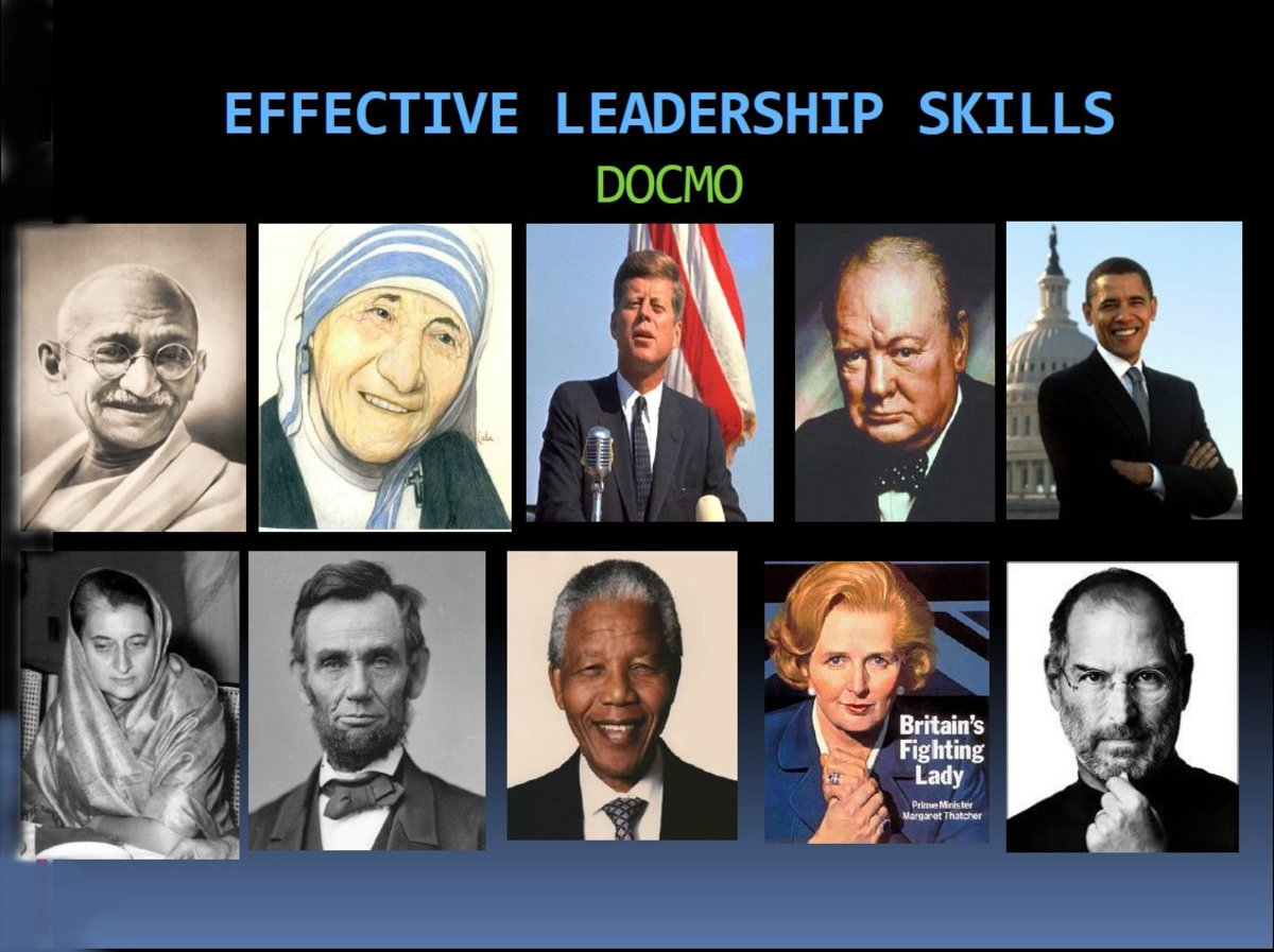 Effective Leadership Skills - Be, Know and Do