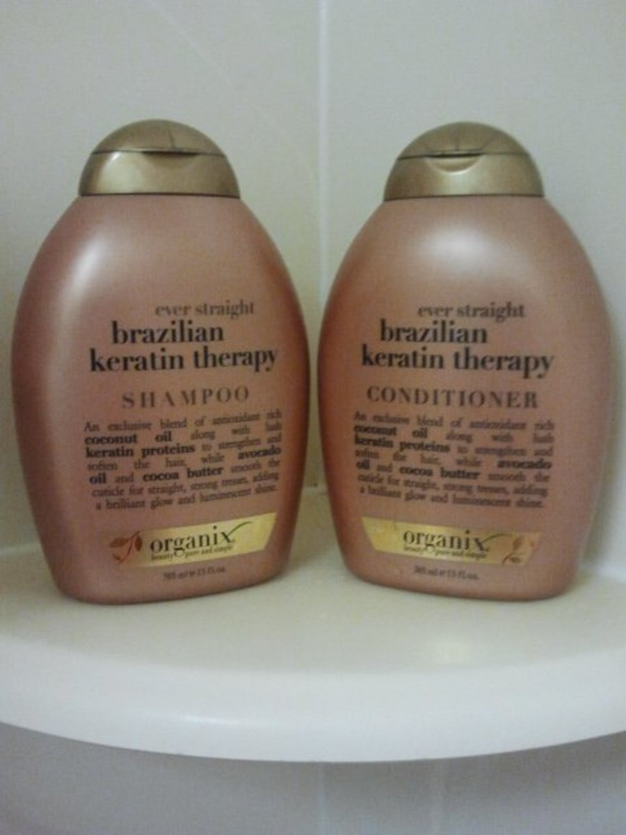 The brand of shampoo and conditioner I use currently. A little pricey for me, but it smells great and makes my hair super soft. Photo: Shanna11