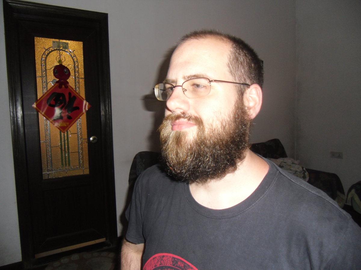 why i should grow a beard if i am teaching english in