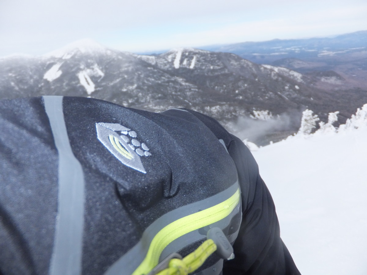 Gear Review of the Mountain Hardware Dry.Q Elite Victorio Jacket