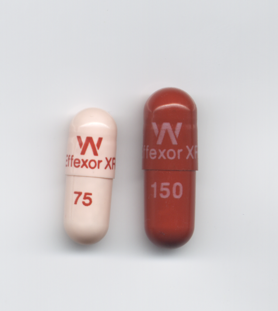 Effexor XR extended release capsules (75 mg and 150mg)