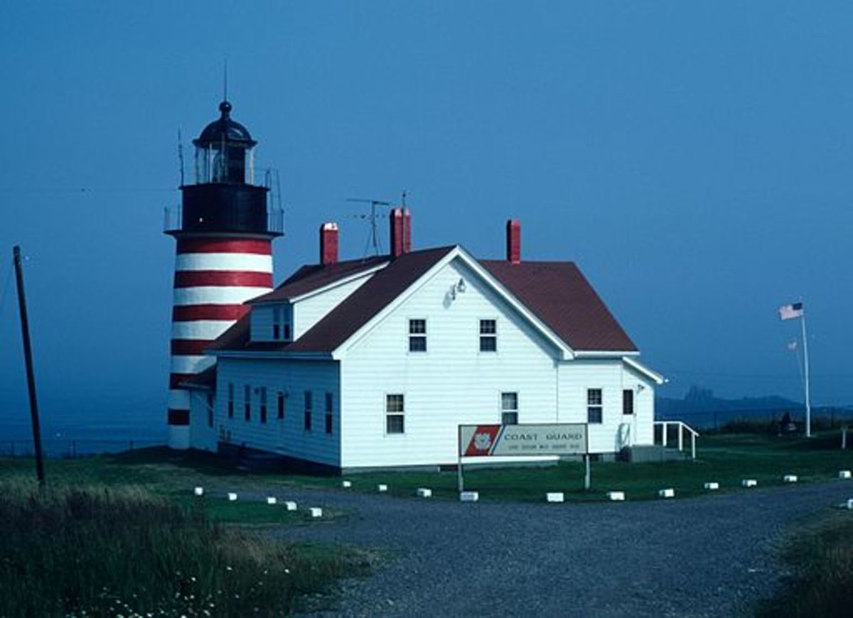 Easternmost Point in the Continental US or First to See the Sun Rise, Are They the Same Place?