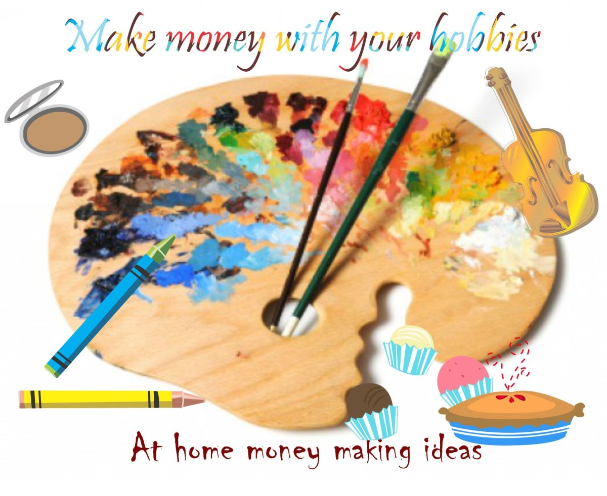 How To Make Extra Money From Home With Your Hobbies