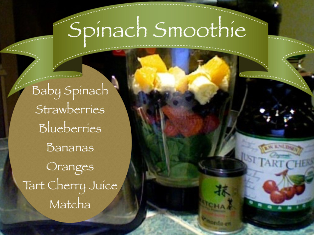 Healthy Spinach Smoothie and Spinach Juice Recipes
