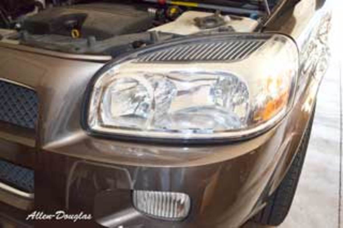 How to Replace a Chevy Uplander Headlight