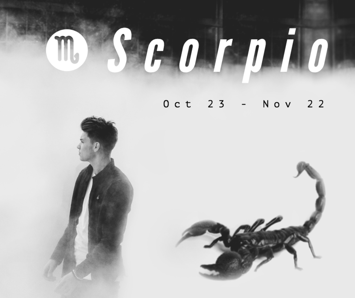 Scorpio men are known for being mysterious, which can leave those around them feeling frustrated and confused. Who better to help you understand them than a fellow Scorpio?