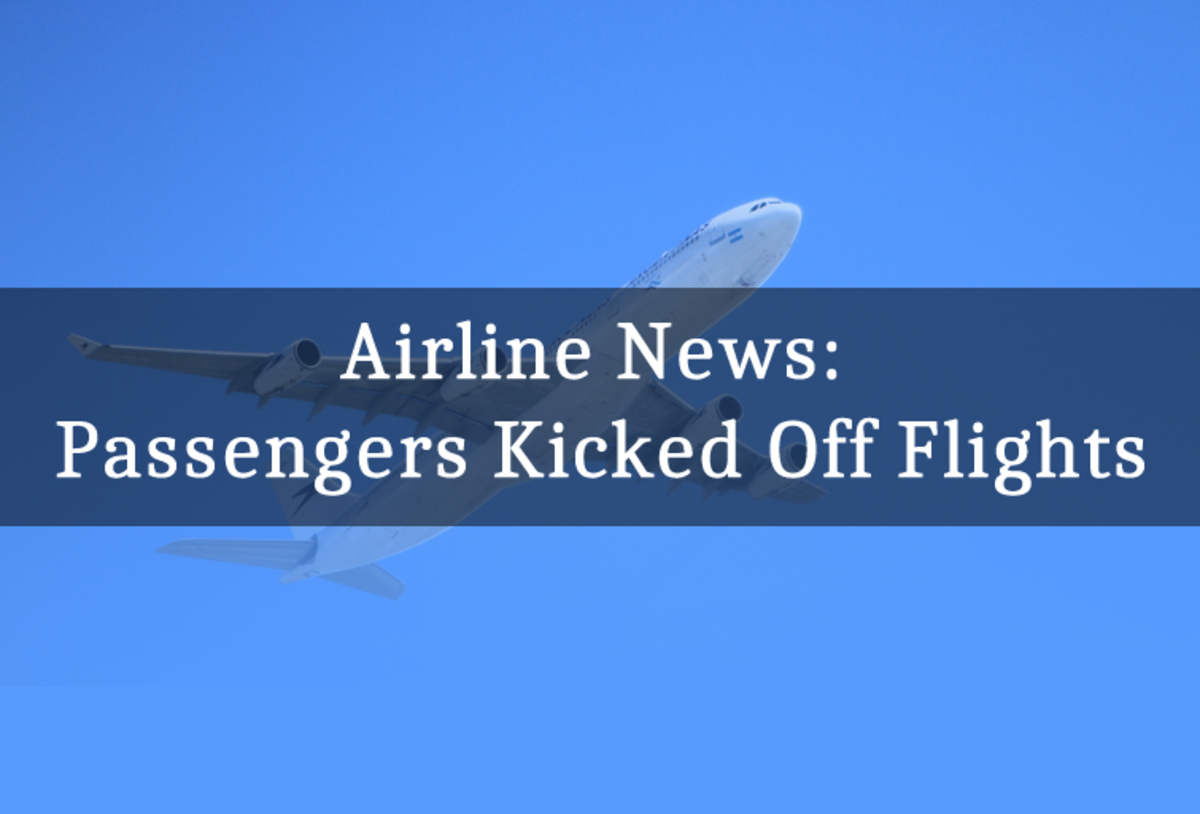 Airline News: Passengers Kicked Off Flights
