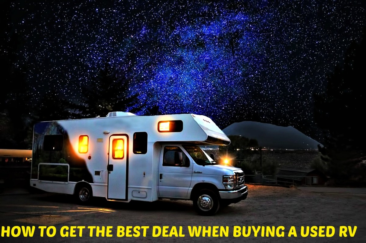 Tips that will help buyers get a great deal on used RV purchases.