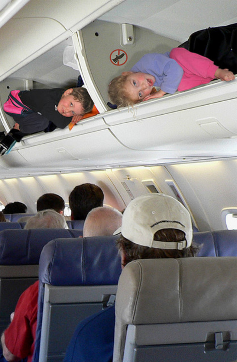 traveling with infant airplane
