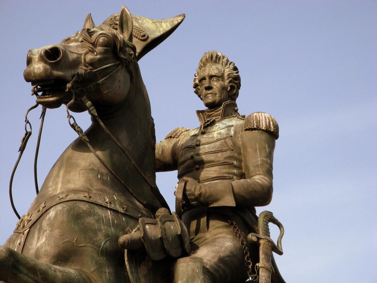 Andrew Jackson: 7th President: Hot Temper & Tough as Old Hickory