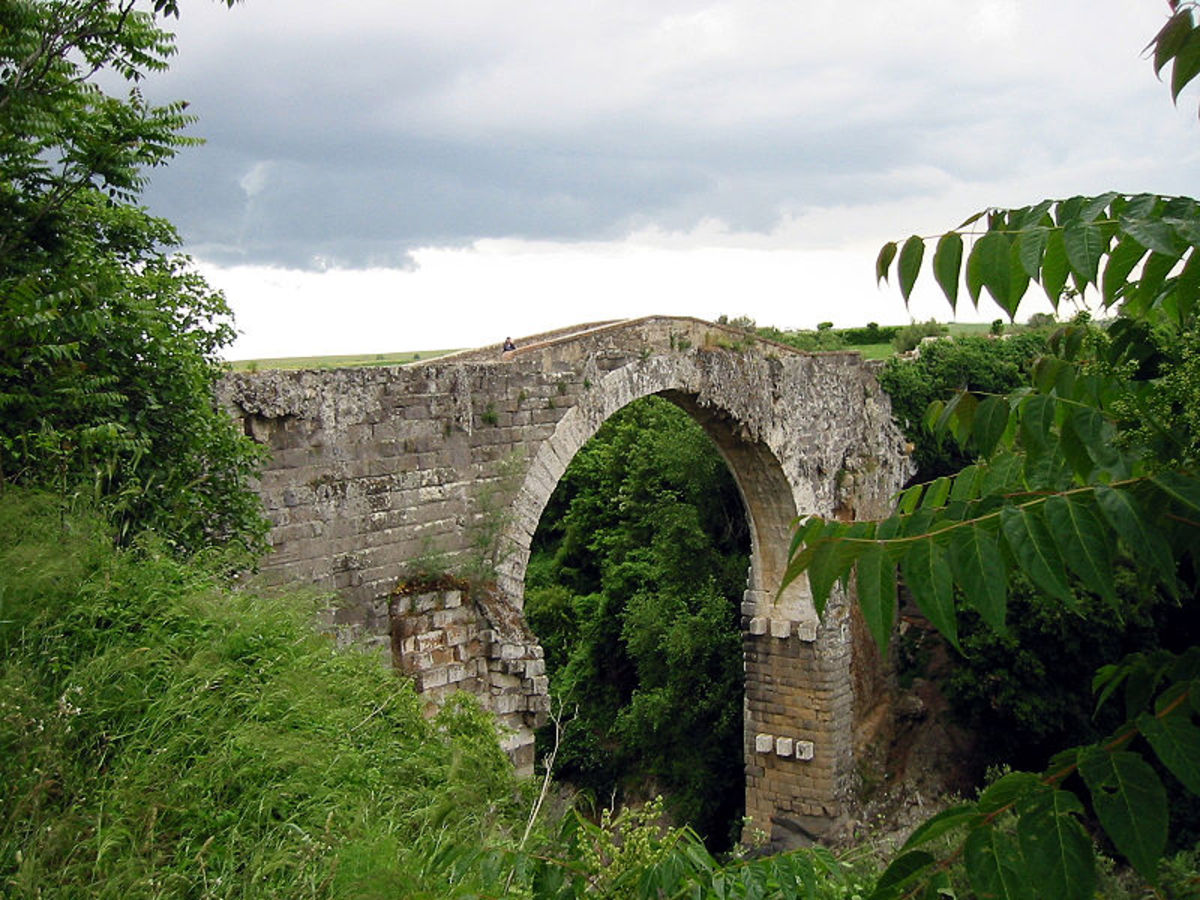 An Etruscan bridge in Vulci, Italy bears testament to the capabilities of a commonly forgotten group of people.