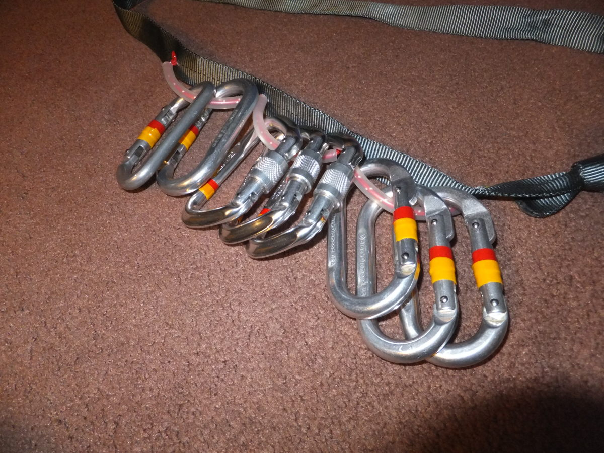 DIY gear slings are an excellent alternative for carrying large amounts of gear.