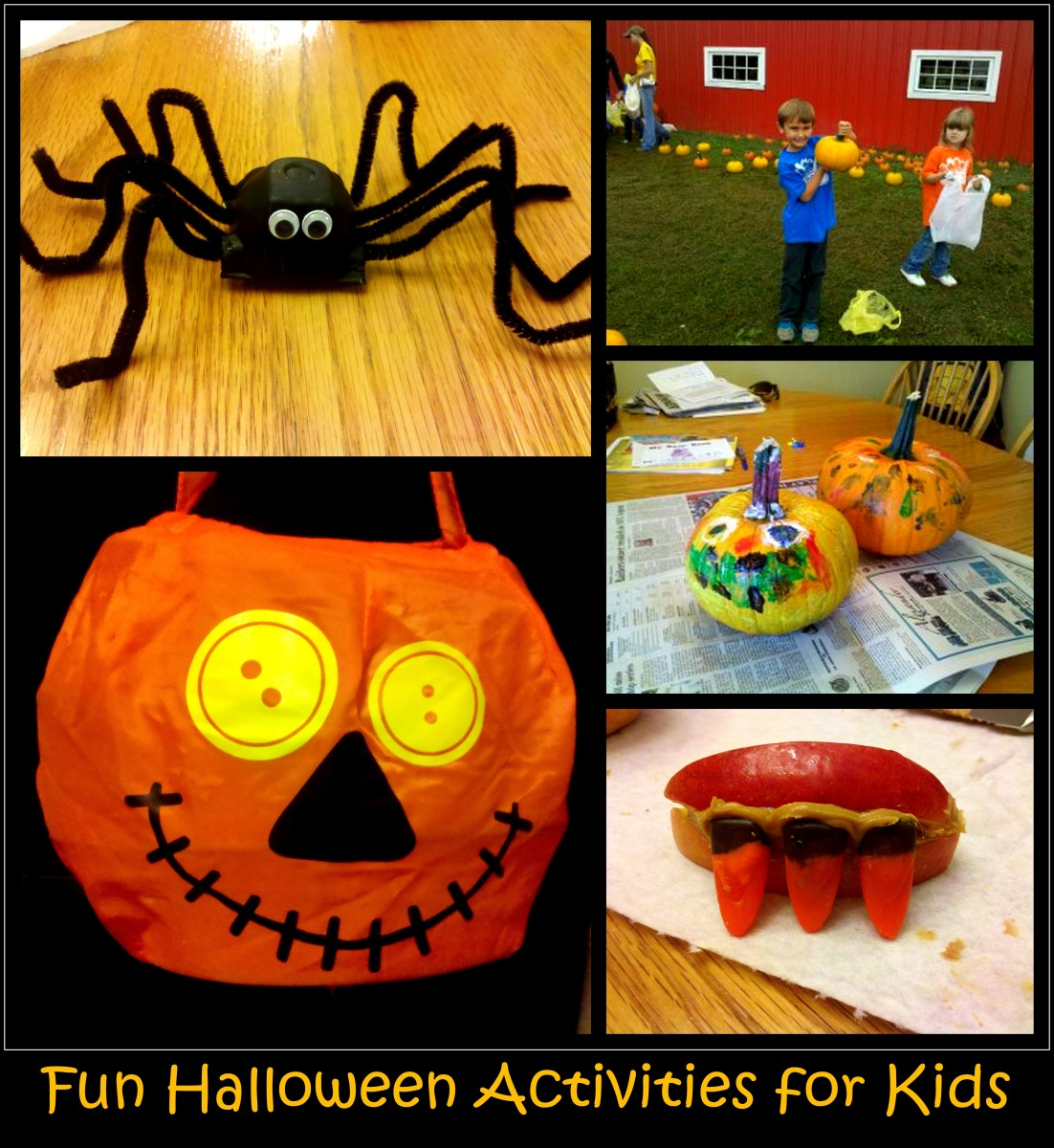 Family Halloween Crafts