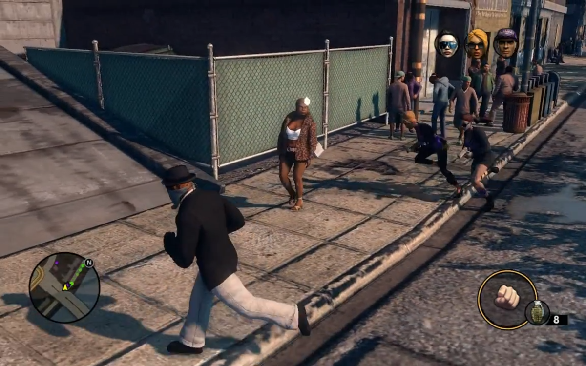"Smoov ""Grab A Ho And He'll Show"" Zimos's Assassin Target in ""Saints Row 3 the Third"""