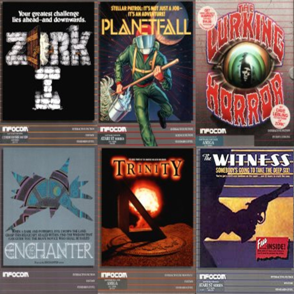 Infocom's Classic Interactive Fiction Games