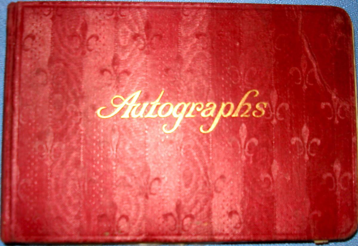 Mother's Autograph Album