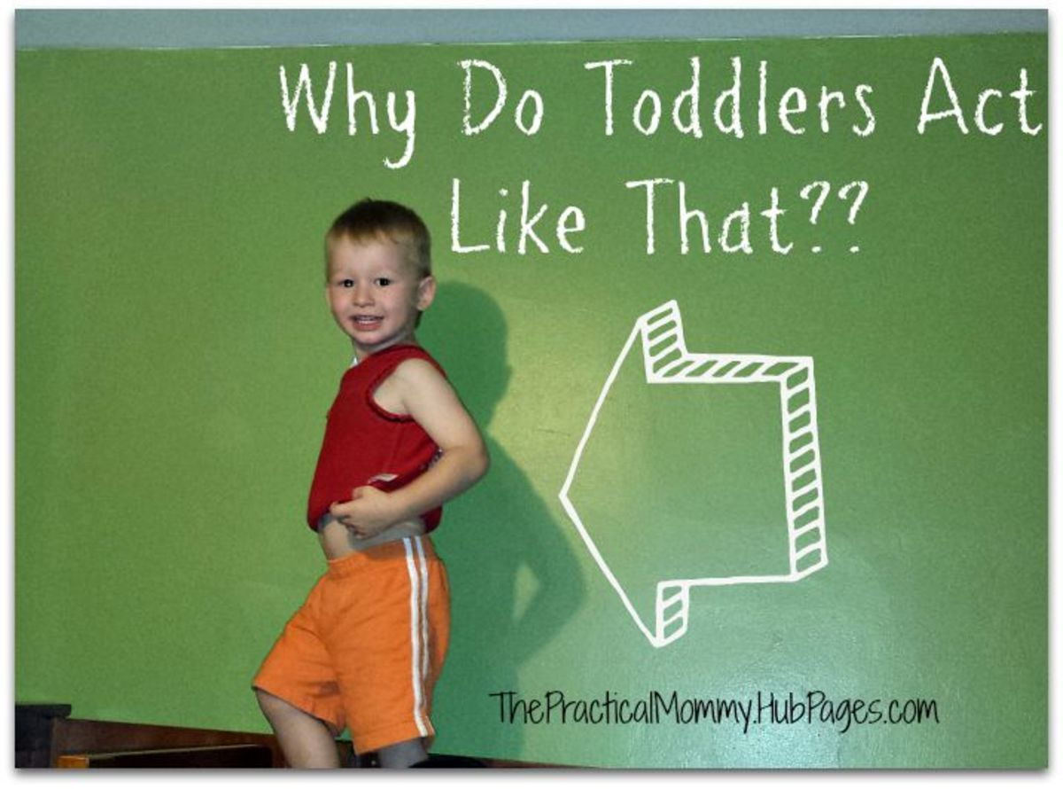 Why do toddlers act like that?