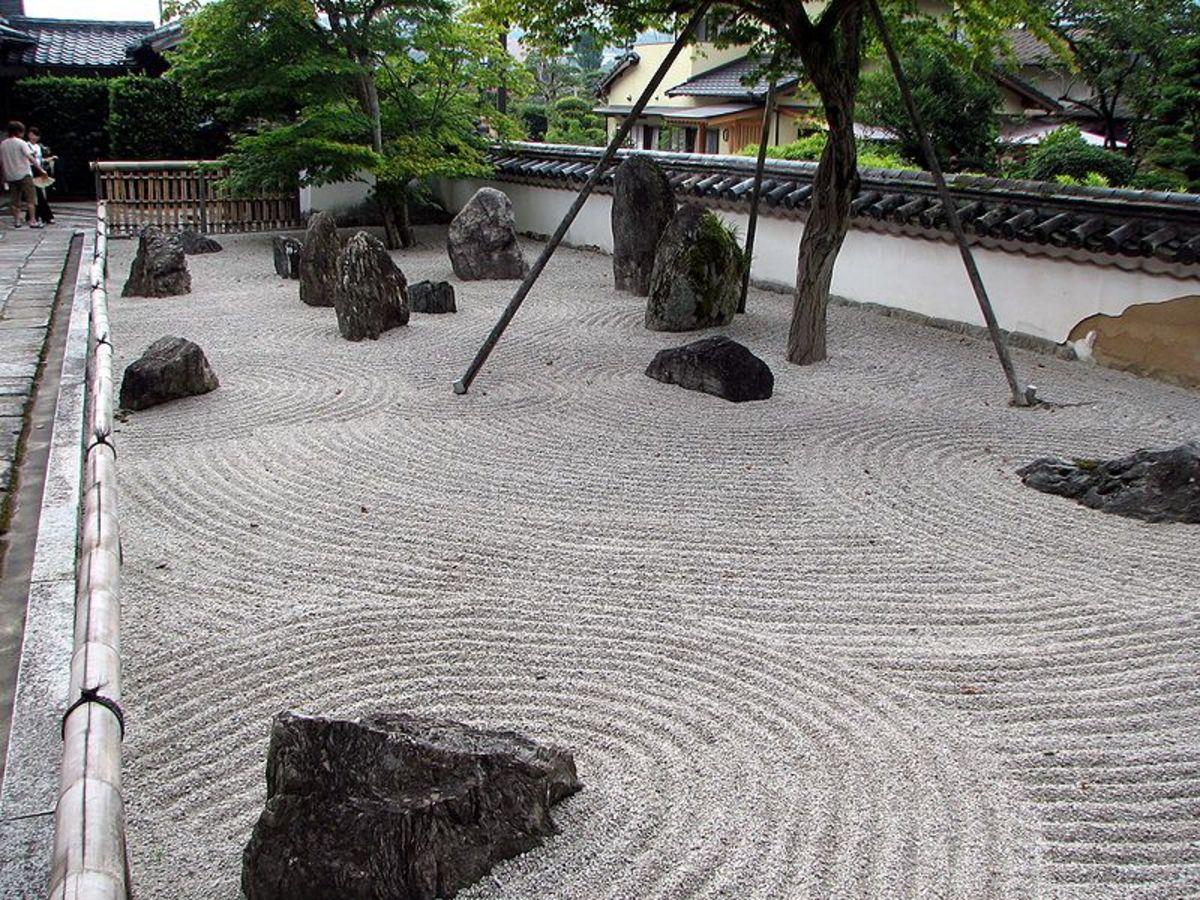Komyozen-ji Rock Garden in Fukuoka, Japan