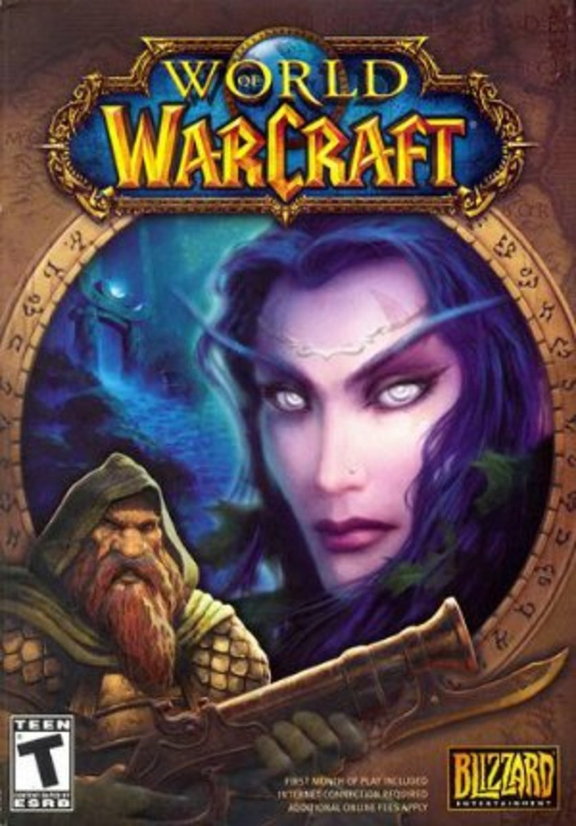 "Box art for ""World of Warcraft."""