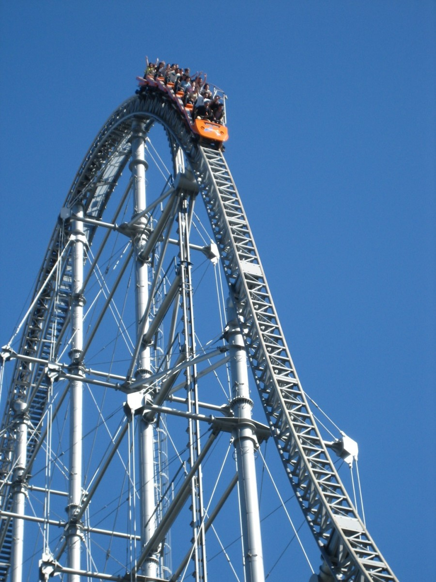 Alcoholism and drug addiction can take our lives to great highs and devastating lows that feel like being on a roller coaster.