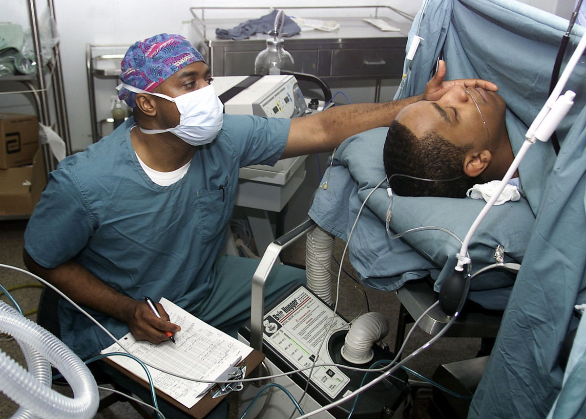 Even procedures done under sedation require careful monitoring of vital signs. Only professionals qualified to ensure oxygen delivery and skilled in airway management should administer sedation.