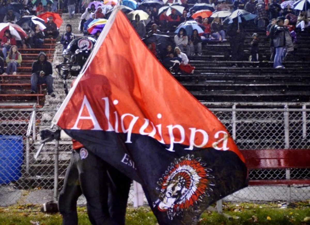 An Aliquippa football game.