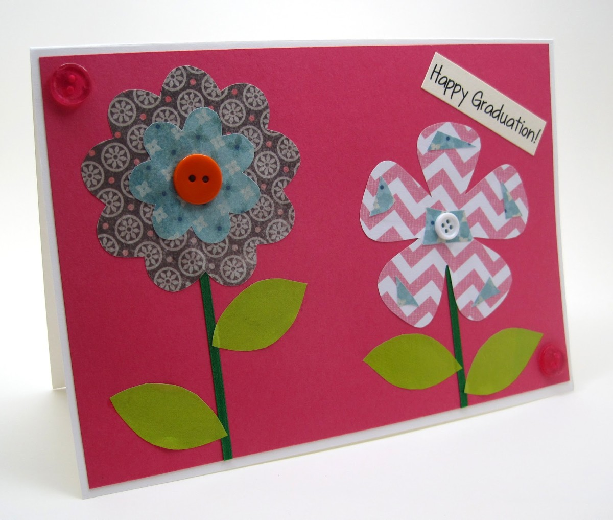 Recycled magazine craft project greeting cards for Christmas card craft projects