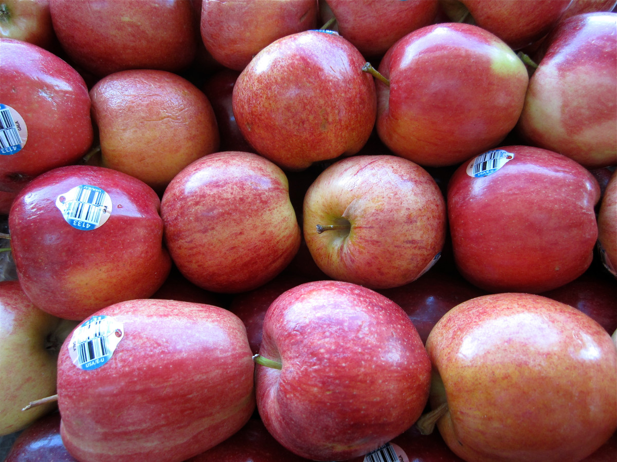 Apples are nutritious and naturally sweet.