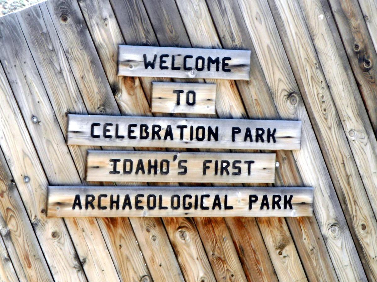 Entering Celebration Park