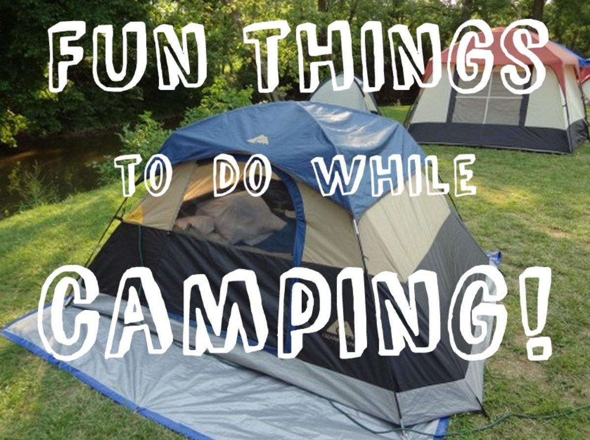 fun activities to do when camping skyaboveus