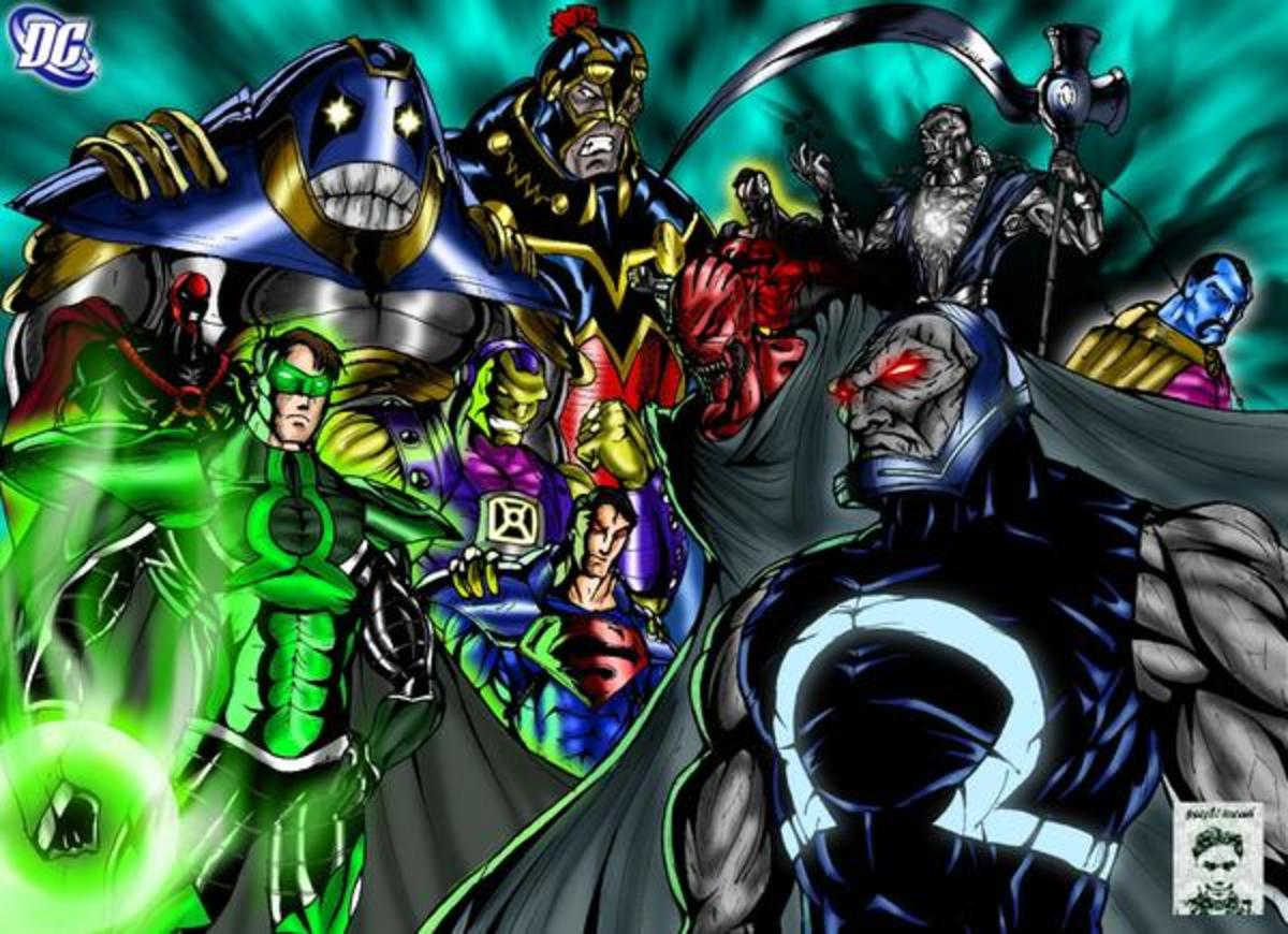 The Ten Most Powerful Threats in the DC Universe