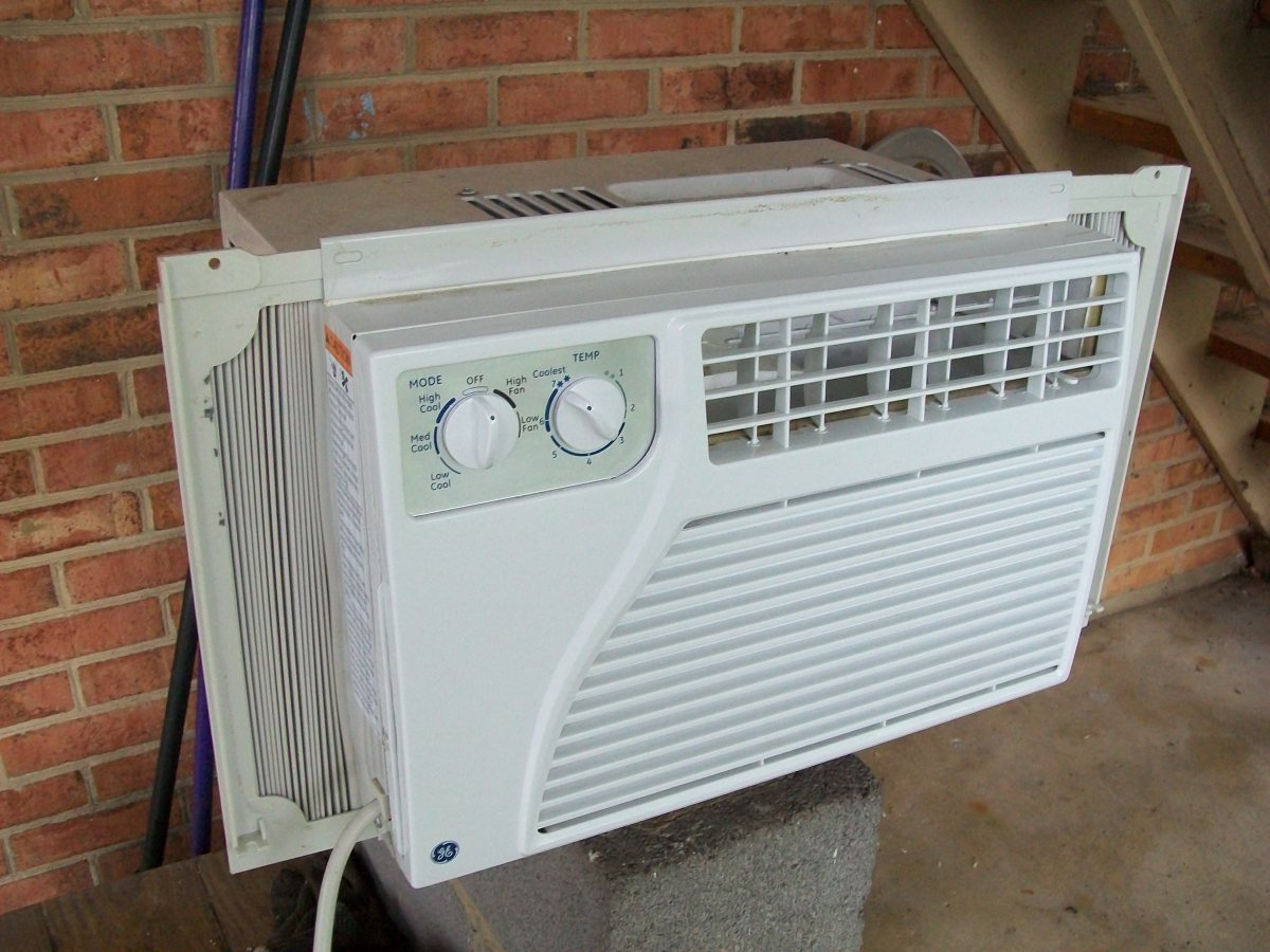 How To Clean A Window Air Conditioning Unit #6F4831