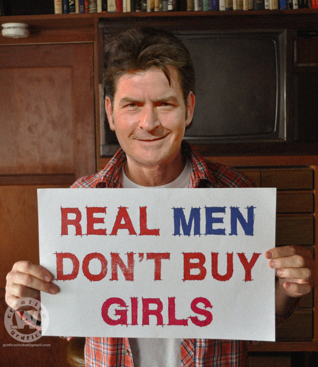 Real Men Don't Buy Girls - Charlie Sheen